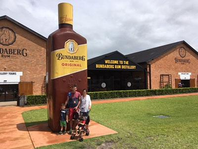 QLD 4x4 Club @ The Bundaberg Rum Distillery