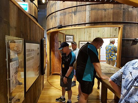Enjoying the Bundaberg Rum Experience
