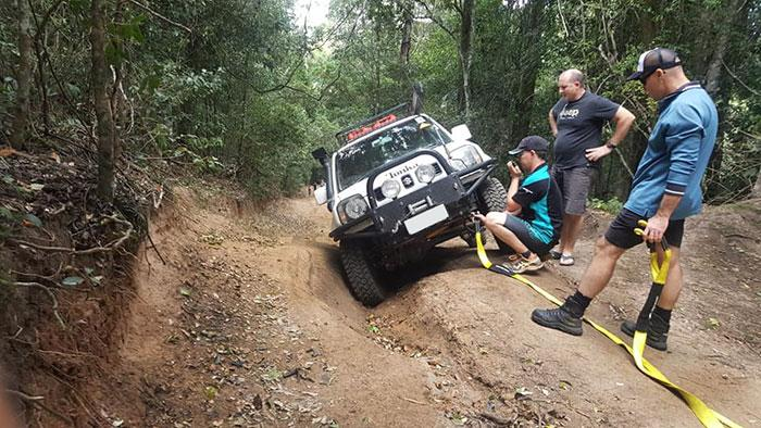 Landcruiser Mountain Park with QLD 4x4 Club members
