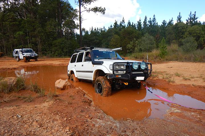Brisbane 4WD Club Ladies Driver Training May 2017