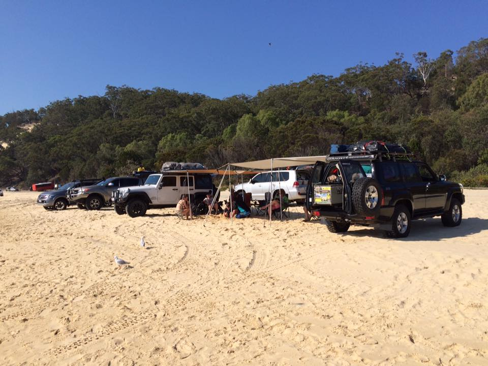Qld4x4Club at Moreton Island September 2017