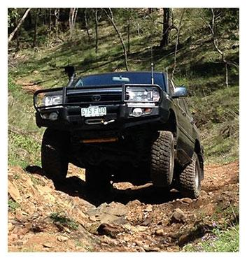 QLD 4x4 Club at The Springs 4x4 Park
