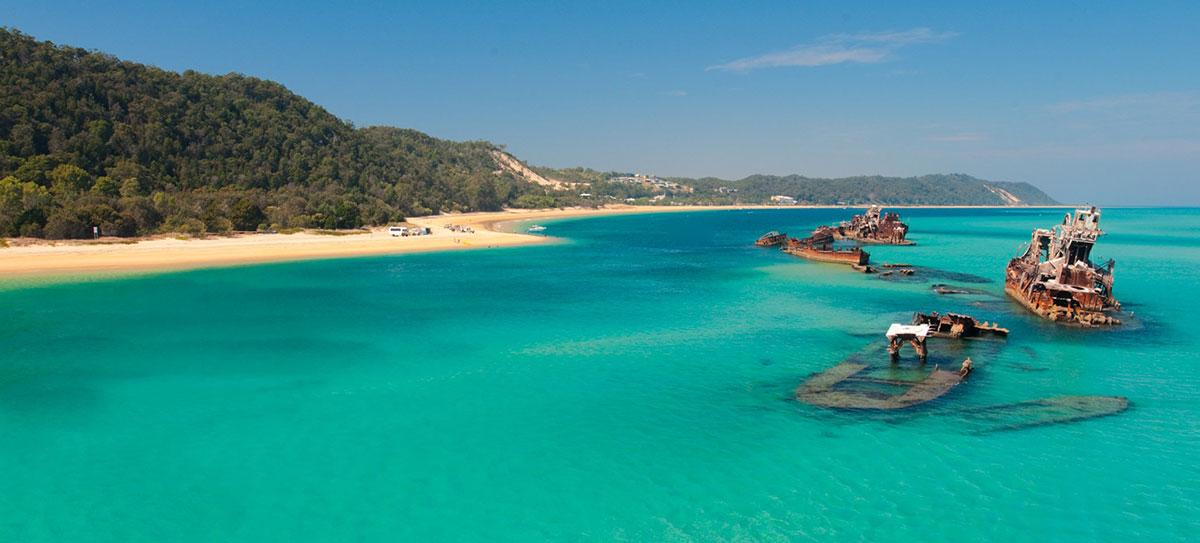 Image result for camping on offer at Moreton Island